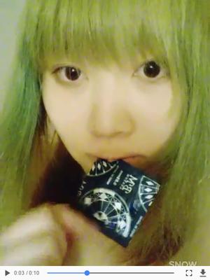 ユイナちゃんの自撮り動画